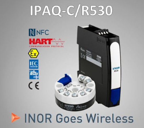 IPAQ 530 - New series transmitters, with wireless communication