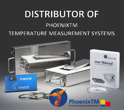 Distributor of PhoenixTM Temperature measurement systems for temperature profiling and analysis
